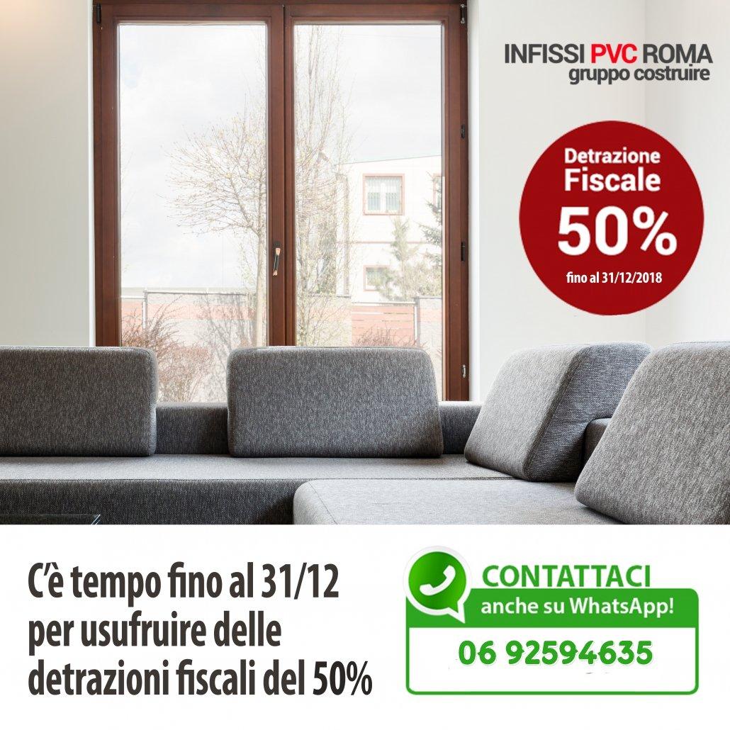 Infissi pvc roma finestre e avvolgibili fornitura e for Offerte infissi roma